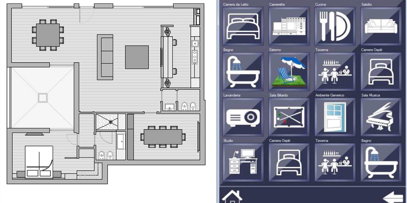 Preventivo impianto domotica impianti elettrici domotica - Impianti sicurezza casa ...