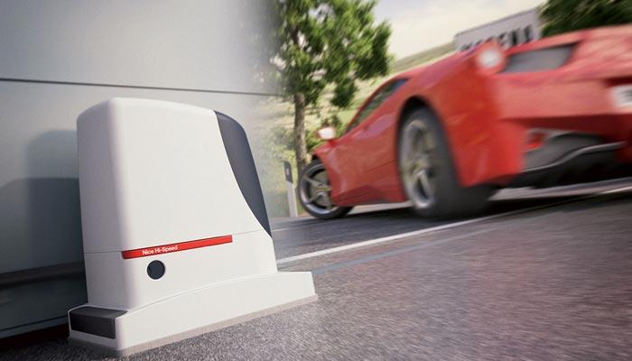Alta Velocità Hi-Speed Nice automation Apri-Chiudi Cancello